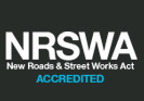 New Roads and Street Work Act Logo